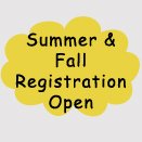 summer fall registration open